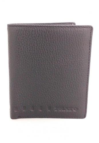 IXACC black Men's Real Leather Black Wallet DD63BAC2A49E28GS_1