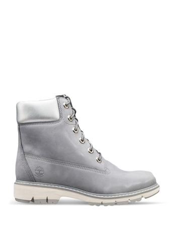 Timberland grey Lucia Way 6 Inch Waterproof Boots 93B13SH7ADCDF0GS_1