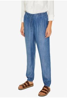 570d86593 ESPRIT blue Tracksuit-Style Jeans 79789AAE69DE63GS_1