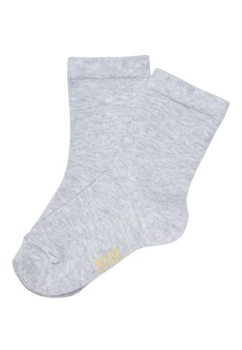Du Pareil Au Même (DPAM) grey Grey Socks FA0ADKA492B703GS_1