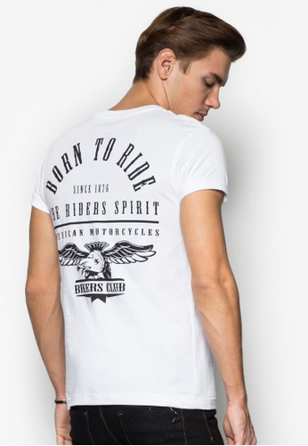 Born to Ride 圖文設計TEE, 服飾, Tesprit taiwan恤