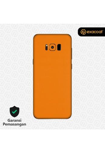 Exacoat Galaxy S8+ Skins True Colors - Pumpkin Orange DBB97ES740A3C7GS_1