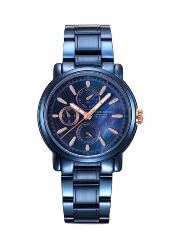 Aries Gold blue Aries Gold Inspire Contender Blue Watch D5B8AAC20F7869GS_1