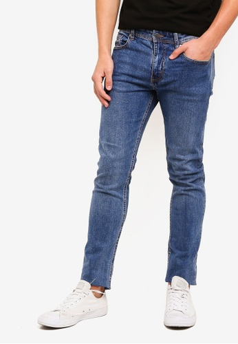 Cotton On 藍色 Slim Fit Jeans 1022BAAA97FE72GS_1