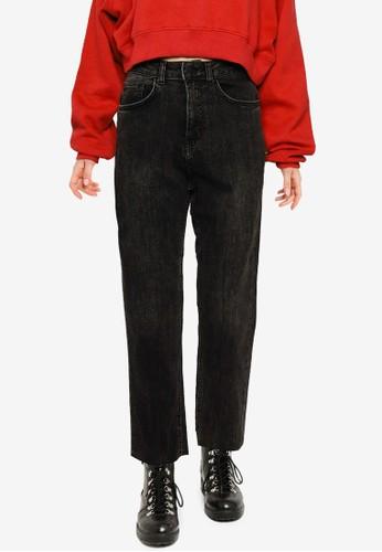 Public Desire black Straight Jeans ADD86AACE9CB22GS_1