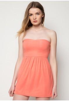 Roses Are Peach Sun Dress