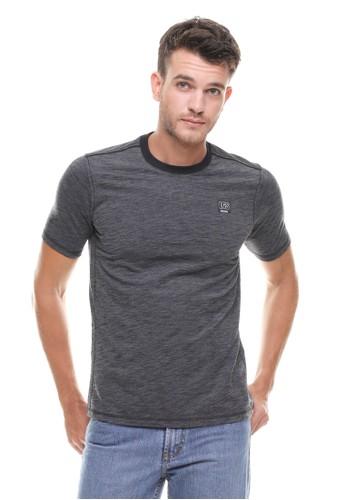 LGS grey LGS - Slim Fit - Kaos Fashion - Polos Bertekstur - Abu LG695AA0VG21ID_1
