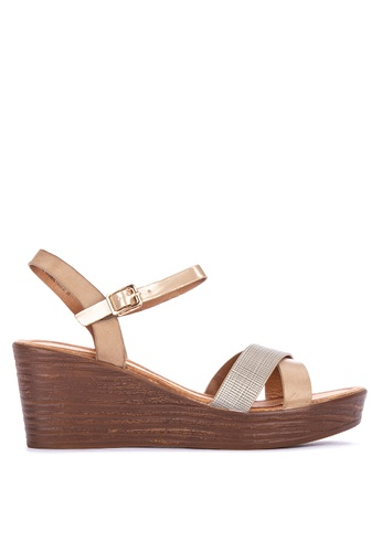 e6b47560a1a Shop Unlisted Macreen Ankle Strap Wedge Sandals Online on ZALORA Philippines