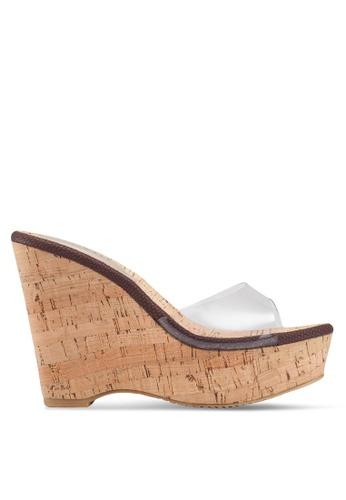 04b4b80f997 Buy Heatwave Cork Wedge Sandals Online on ZALORA Singapore