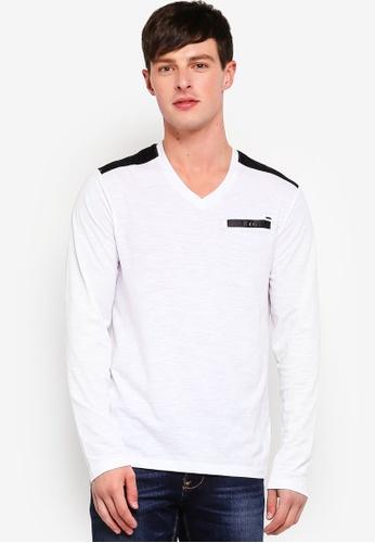 Guess 白色 Guess V領針織衫 596BBAAE9D6463GS_1
