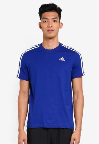 adidas blue adidas ess 3s tee 8C2F6AAECCD671GS_1