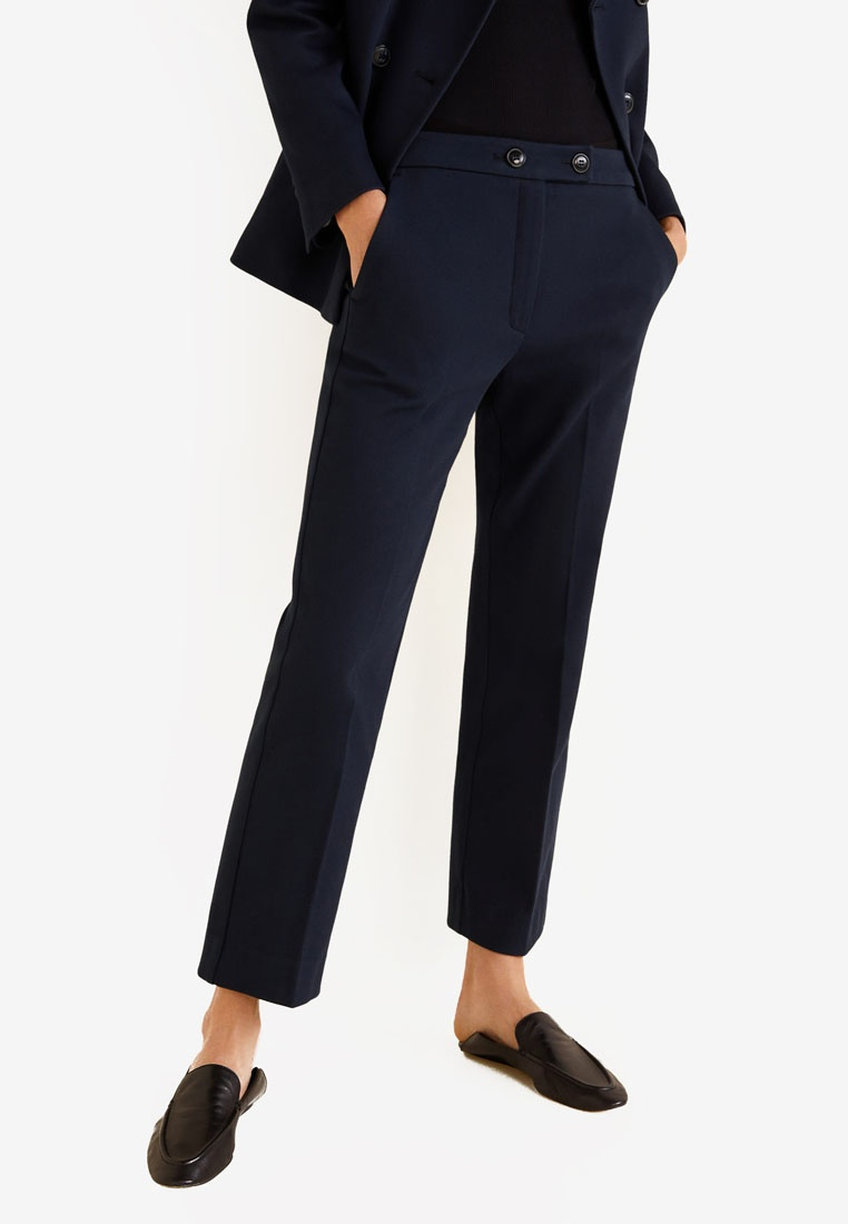 Suit Suit Mango Trousers Mango Trousers Cotton Cotton Cotton Trousers Mango Mango Suit Navy Trousers Cotton Suit Navy Navy AqwPpf