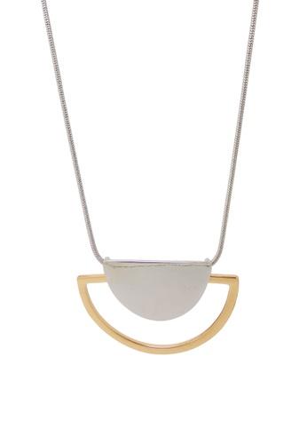 Jaysa Collection gold Half Moon Pendant Necklace JA875AC0F48HSG_1