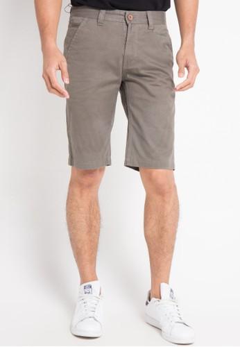 Lois Jeans grey Short Pants Twill E27F7AA8201455GS_1
