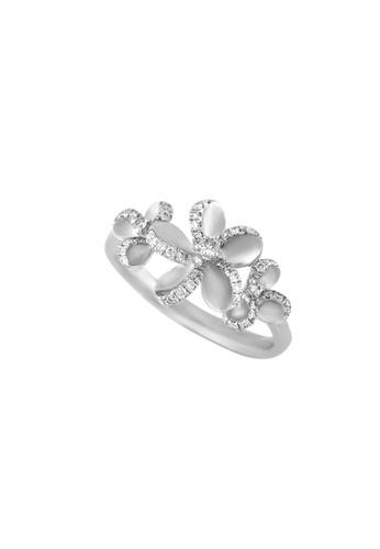 TOMEI white TOMEI Florilegium of Effulgence Ring, Diamond White Gold 375 (R2285V) 8667BAC1F39AB8GS_1