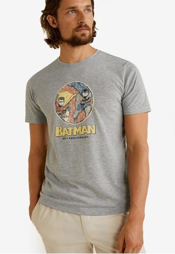 612796f79 Buy MANGO Man Batman T-Shirt | ZALORA HK