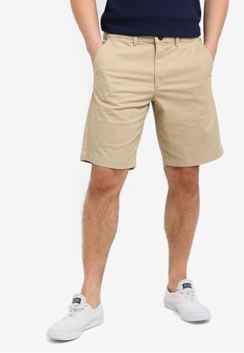 "GAP brown 10"" Stretch Shorts D1E6AAA4467BB7GS_1"