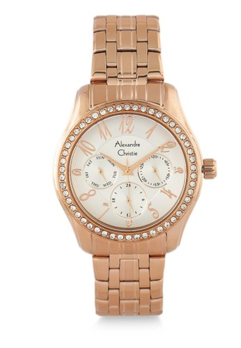 Alexandre Christie gold Alexandre Christie Jam Tangan Wanita - Rosegold - Stainless Steel - 2497 BFBRGSL E2436ACE473F45GS_1