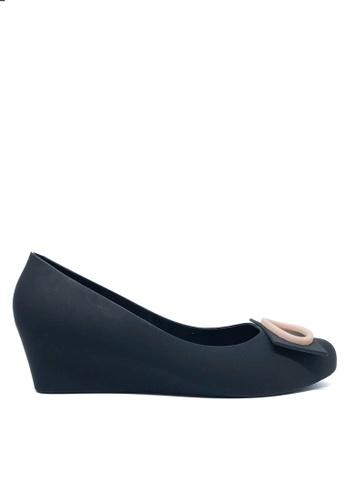 Twenty Eight Shoes 黑色 優雅果凍膠船踭鞋 510A 6BE3BSH7A45804GS_1