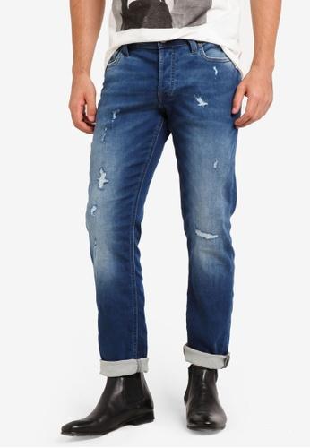 Jack & Jones blue Glenn Original Slim Fit Jeans JA987AA0RGJEMY_1