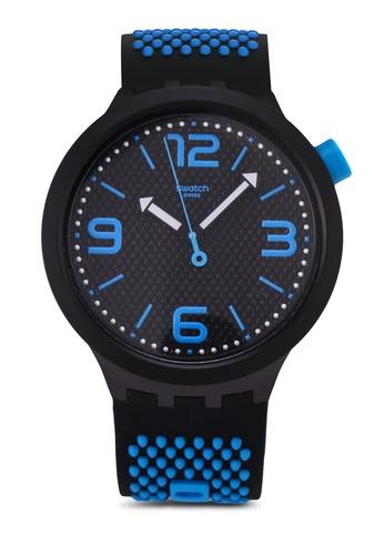 Swatch black BBBlue Watch 99C49AC318BCFDGS_1