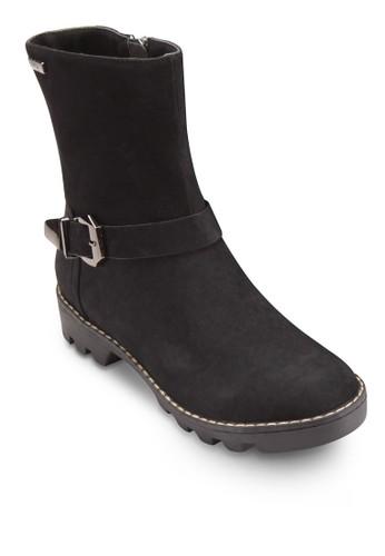 Cynthia 扣環帶esprit cn短筒靴, 女鞋, 鞋
