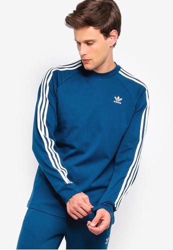 685faf38078d adidas blue adidas originals 3-stripes long sleeve tee F4673AA929C0E6GS_1