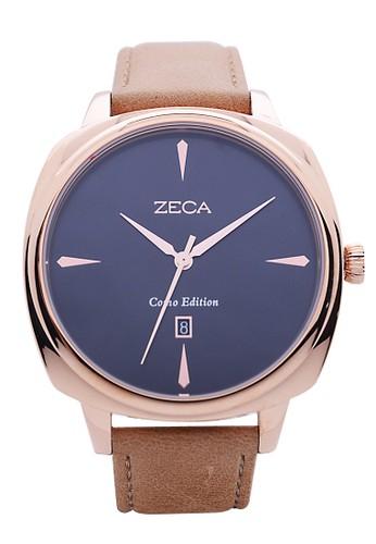 ZECA brown Jam Tangan Pria 336M.LBR.DRG2 ZE074AC68NCTID 1 6464c5694b
