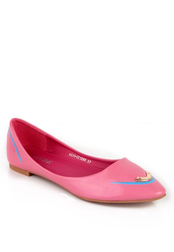 INSIDE pink Inside Flats Sam Pink IN074SH63CTSID_1