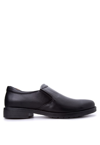 Itti black Men's Formal Shoes IT425SH55GEMPH_1