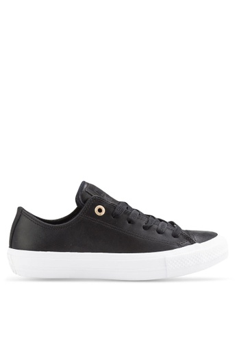 Converse black Chuck Taylor All Star II Ox Sneakers CO302SH43QKMMY_1