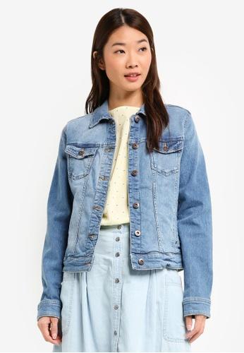ESPRIT blue Indoor Denim Regular Jacket A5416AABA86020GS_1