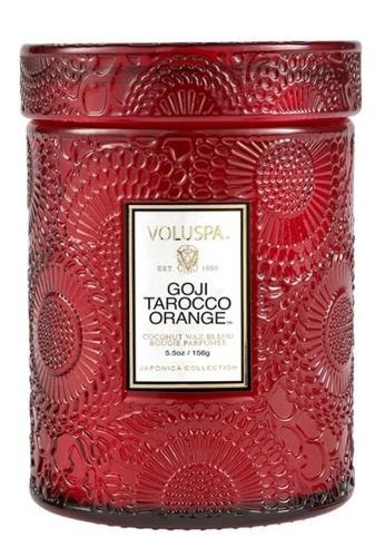 Voluspa GOJI TAROCCO ORANGE SMALL JAR CANDLE A102CHL293E4D7GS_1