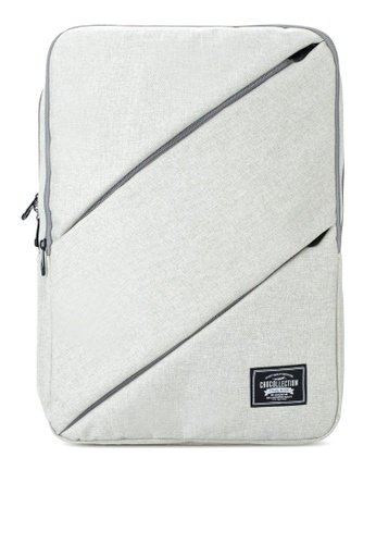 Chocollection grey Labmate Backpack CB436AC0AB2898GS_1