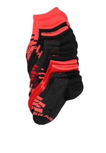 Under Armour black UA Boy's Essentials No Show Socks 530EAKCABFE5BAGS_1