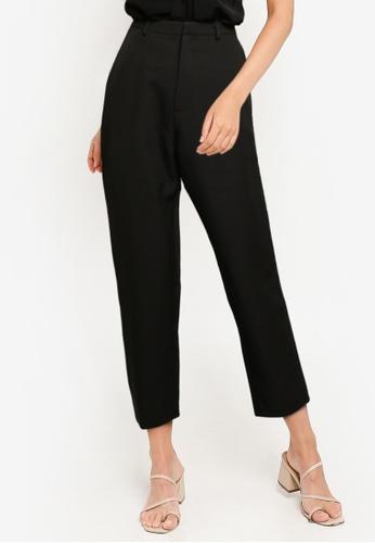 ZALORA WORK black Tailored Pants 26836AA652D808GS_1