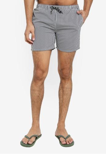 Electro Denim Lab 米褐色 Swim Shorts E8DEAUS5F97886GS_1