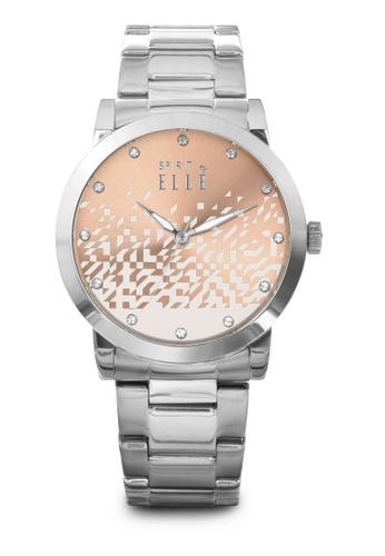 ELLE beige Fashion Ladies Watch SP241AC44LQLMY_1