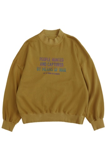 Twenty Eight Shoes Retro Reflective Printed Long T-shirt 1376W20 C879DAAA8F928FGS_1