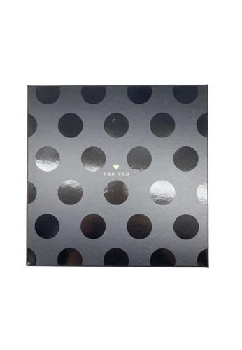 Klosh Gift Box - Black Polka 9A3B0HL8DE6059GS_1