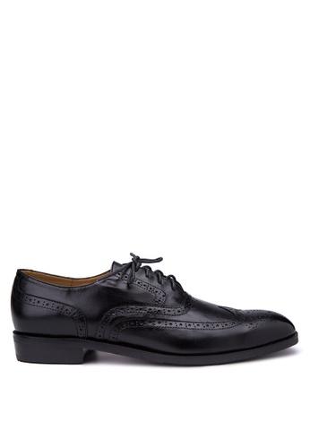 Antonio Manila black Jeferson Lace-up Shoes AN569SH19HHWPH_1