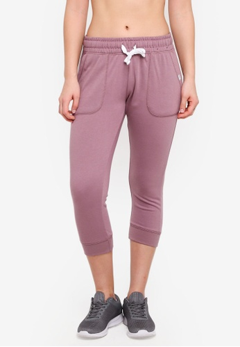 Cotton On Body purple Cropped Gym Track Pants A8163AA89B8FDDGS_1