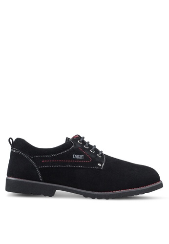 Knight black Smart Casual Shoes KN875SH28ZLRMY_1
