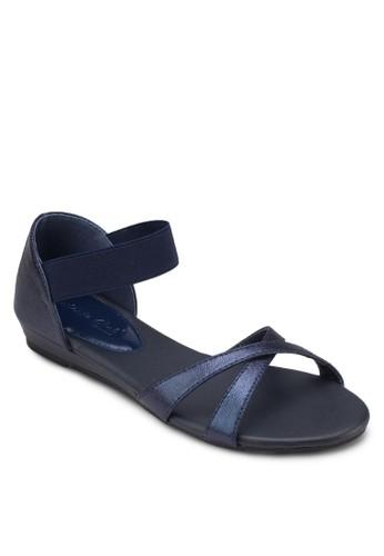 交叉繞踝包跟涼鞋, esprit outlet 台中女鞋, 涼鞋