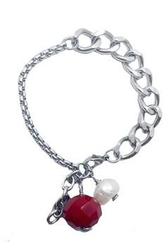 Stainless Steel Charmed Chain Bracelet (RP)