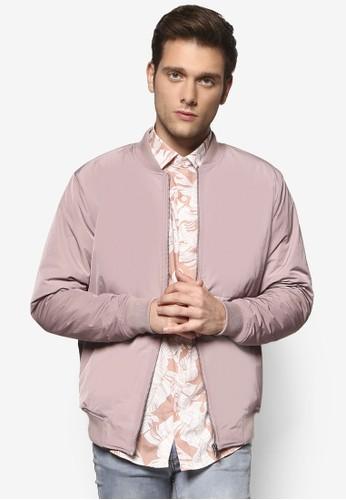 Topman Premium 窄領飛行夾克esprit台灣, 服飾, 服飾