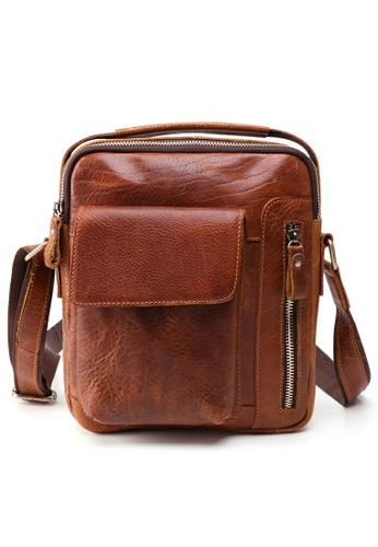 Twenty Eight Shoes Handmade Vintage Leather Sling Bag 6435 A03D6AC0755C65GS_1