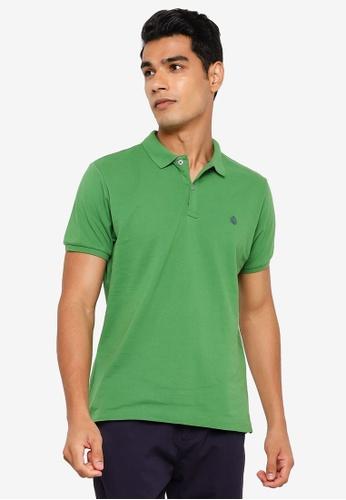 Springfield green Essential Slim Polo Shirt 751DDAAA059A0FGS_1