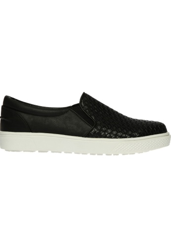 paperplanes black SNRD-135 Woven Style Tall Up Casual Slip-Ons Shoes US Women Size PA355SH24QBBSG_1