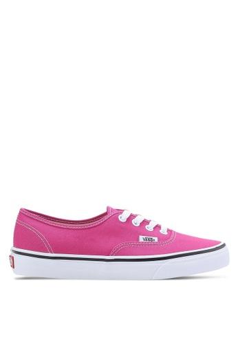 VANS pink Authentic Sneakers VA142SH15GZGMY_1